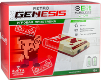 Игровая приставка «Retro Genesis 8 Bit Wireless Li-ion» + 300 игр