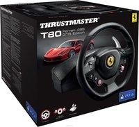 Руль с педалями Thrustmaster T80 Ferrari 488 GTB Edition PS4
