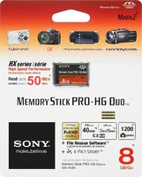 Карта памяти Sony Memory Stick PRO Duo 8Gb Original