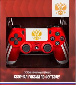 Беспроводной джойстик DualShock 4 «Сборная России» версия 2