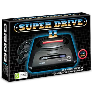 Игровая приставка Sega Super Drive 2 + 62 встроенные игры