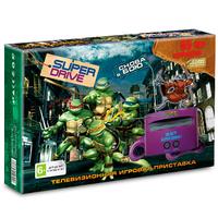 Игровая приставка Sega Super Drive Turtles  + 55 встроенных игр