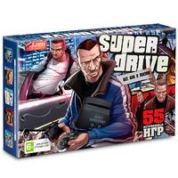 Игровая приставка Sega Super Drive GTA  + 55 встроенных игр