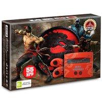 Игровая приставка Sega Super Drive Mortal Kombat + 55 встроенных игр