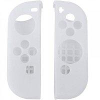 Силиконовые чехлы для 2-х контроллеров Joy-Con Белый Цвет
