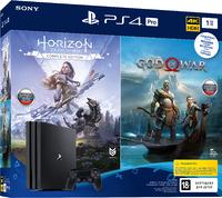 Игровая приставка Sony PlayStation 4 Pro 1TB + Horizon Zero Dawn. Complete Edition + God of War