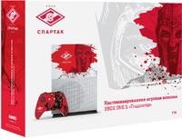Кастомизированная игровая приставка Microsoft Xbox One S 1TB «Спартак»