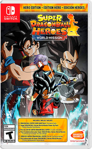 Super Dragon Ball Heroes World Mission. Heroes Edition