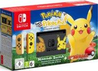 Игровая приставка Nintendo Switch Pickachu & Eevee Edition + Pokemon Let`s Go, Pikachu