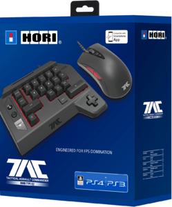 Игровая мышь + Кейпад Hori T.A.C. FOUR TYPE K2