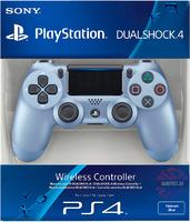 Беспроводной джойстик DualShock 4 Jet Titanium Blue  «Титановый синий» версия 2