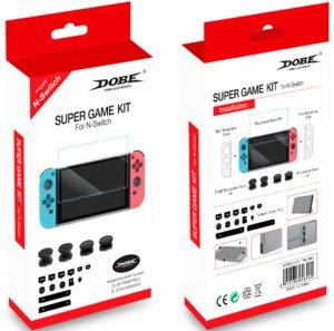 Набор аксессуаров DOBE «Super Game Kit» для Nintendo Switch. Mod.: TNS-1880