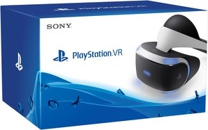 Шлем виртуальной реальности Sony PlayStation VR CUH-ZVR1, черно-белый