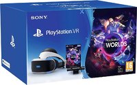 Шлем виртуальной реальности PlayStation VR «CUH-ZVR2» + Камера PlayStation + игра VR Worlds