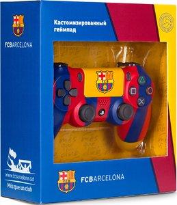 Геймпад DualShock 4 для PS4 беспроводной кастомизированный ФК Барселона «Клубный» (RBW-DS040)