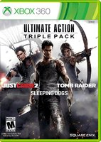 Ultimate Action Triple Pack Just Cause 2, Sleeping Dogs, Tomb Raider [Xbox One]
