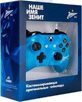 Беспроводной джойстик Xbox One ФК «Зенит» Северное Сияние
