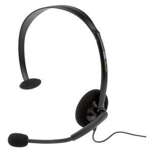 Проводная стереогарнитура «Headset Black» для Xbox 360