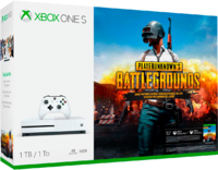 Игровая приставка Microsoft Xbox One S 1TB + PlayerUnknown`s Battlegrounds