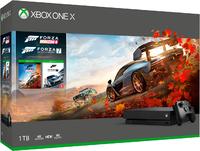 Игровая приставка Microsoft Xbox One X 1TB + Forza Horizon 4 + Forza Motorsport 7