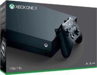Игровая приставка Microsoft Xbox One X 1TB «Black» + Xbox Game Pass + Xbox Live Gold