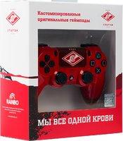 Беспроводной джойстик DualShock 4 ФК  Спартак «Гладиатор» версия 2