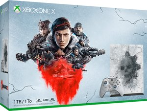 Игровая приставка Microsoft Xbox One X 1TB «Gears 5» Limited Edition