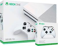 Игровая приставка Microsoft Xbox One S 500GB + 2-ой джойстик