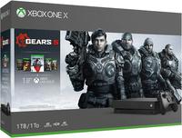 Игровая приставка Microsoft Xbox One X 1TB + Gears 5