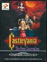 Castlevania - The New Generation [Sega Mega Drive]