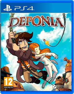 Chaos on Deponia [PS4]