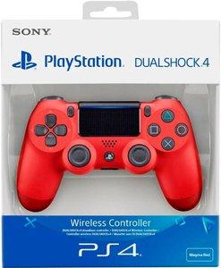 Геймпад Sony DualShock 4 V2  (CUH-ZCT2E) Magma Red (красная лава)