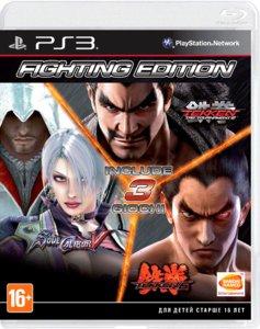 Fighting Edition: Tekken 6, Soul Calibur 5, Tekken Tag Tournament 2 [PS3]