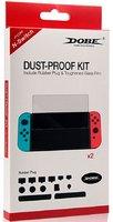 Комплект заглушек для защиты от пыли + защитное стекло DOBE Dust-proof Kit для Nintendo Switch Mod: TNS-862
