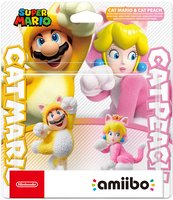 Фигурка Amiibo Марио-кот и Пич-кошка «Super Mario Collection»