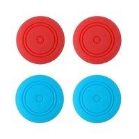 Силиконовые накладки для Joy-Con Набор 4 в 1 «неоновый синий/неоновый красный»