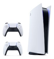 Игровая приставка Sony PlayStation 5 с двумя геймпадами DualSense