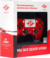Беспроводной джойстик DualShock 4 ФК Спартак «Красно-белый» версия 2
