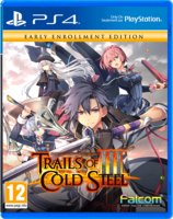 The Legend of Heroes: Trial of Cold Steel III. Early Enrollment Edition [ps4]