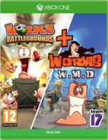Worms Battlegrounds + Worms W.M.D. Double Pack [Xbox One]