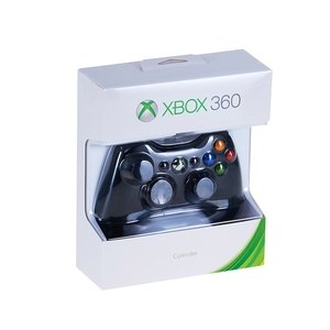 Беспроводной контроллер XBOX 360 Черный Цвет