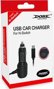 Зарядка автомобильная Nintendo Switch USB Car Charger Dobe Модель: 870