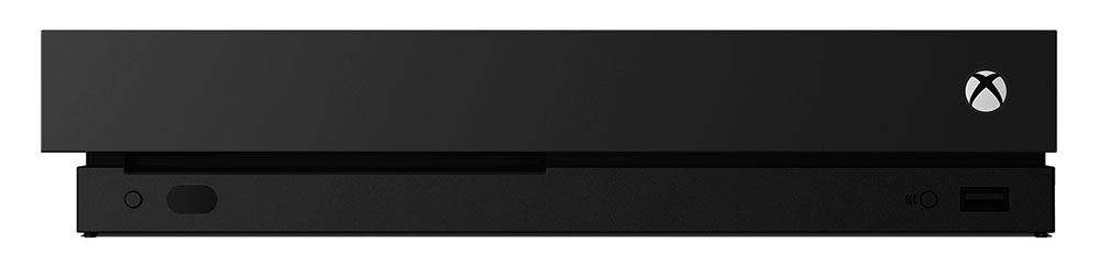 Xbox One X fasad